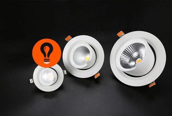ILX 136 088 LED Downlights Spots 3000K