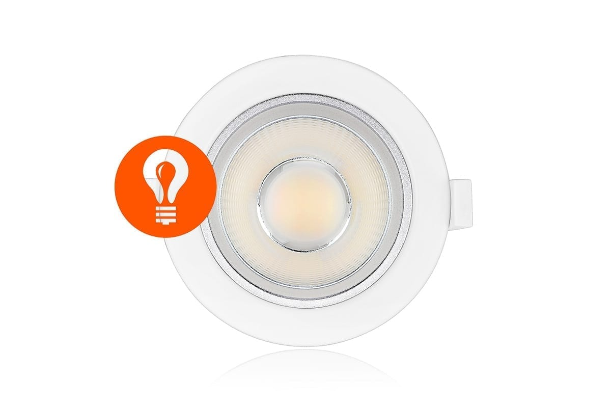 ILX 136 118 LED Downlights Spots Tri White
