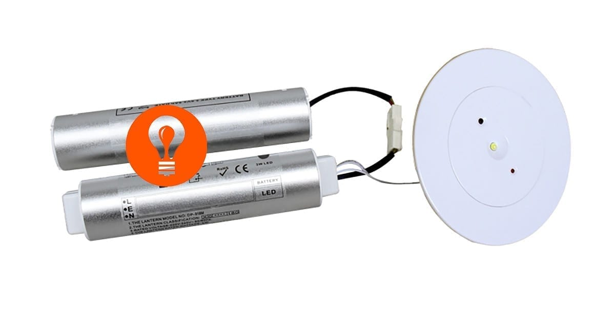 ILX 600 003 LED Noodverlichting Downlights Spots